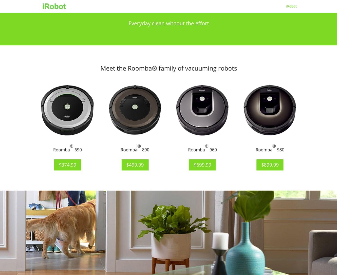 SEO продвижение сайтов в США-portfolio-seo-services-seotoptop.com-irobot