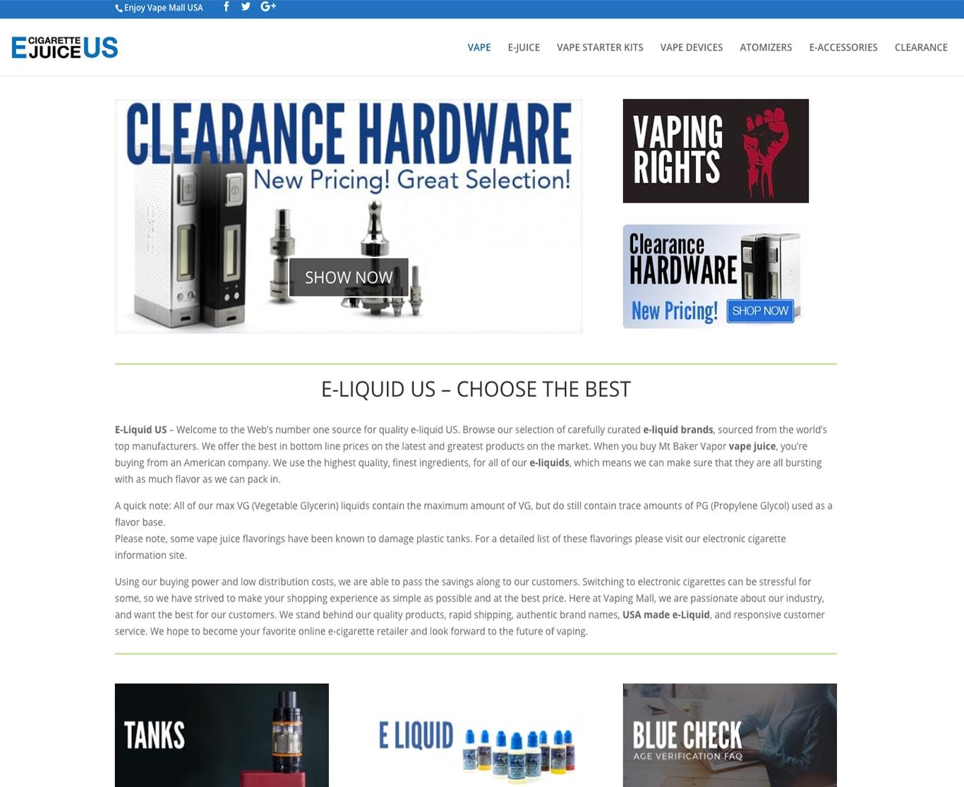 SEO продвижение сайтов в США-portfolio-seo-services-seotoptop.com-vape
