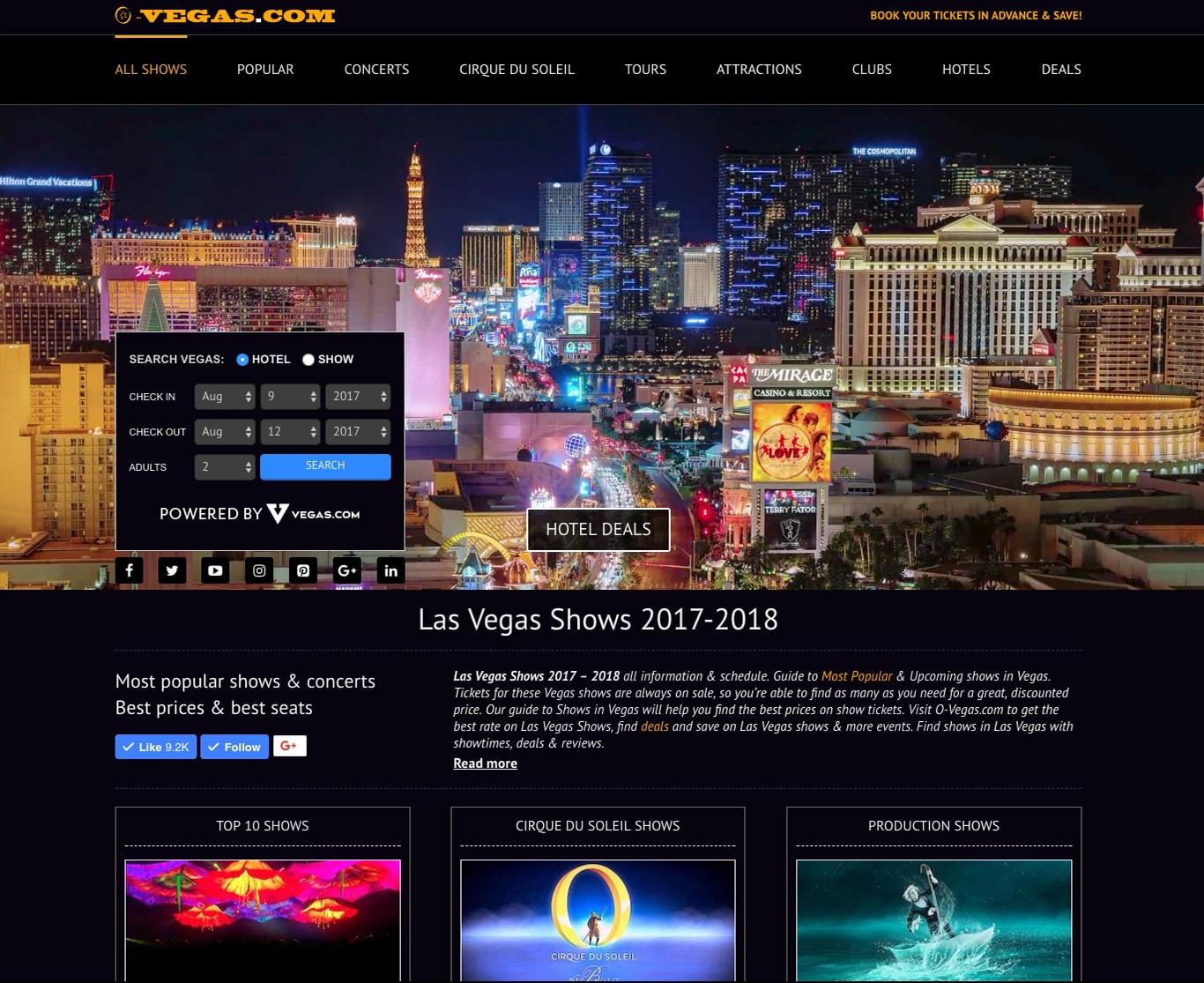 SEO продвижение сайтов в США-portfolio-seo-services-seotoptop.com-vegas-1