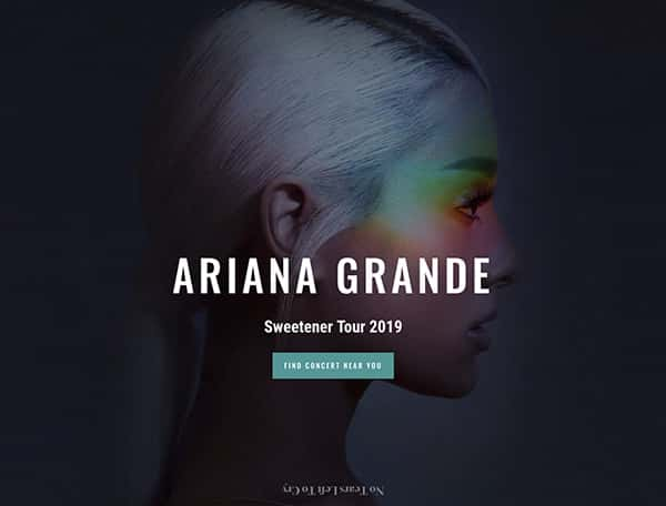 ariana-website