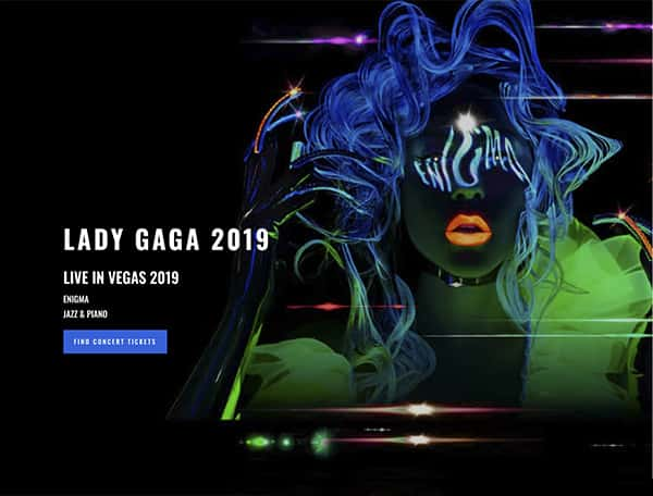 gaga-website